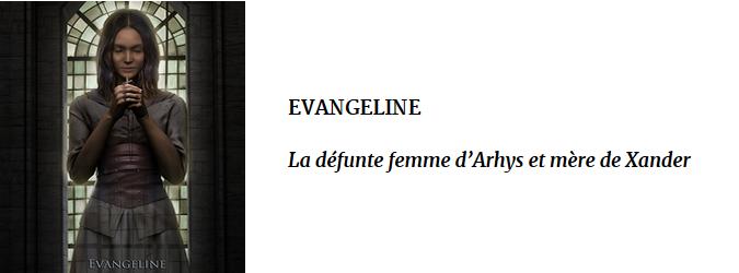 FICHE EVANGELINE
